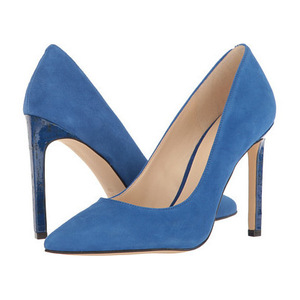 玖熙(NINE WEST) Tatiana #蓝色麂皮 2 #Blue Suede 2