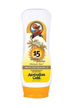 澳洲黄金(Australian Gold) 防晒乳液 全身 SPF 15 (230ml)