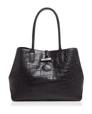 珑骧 女士手提包 #Black/Silver