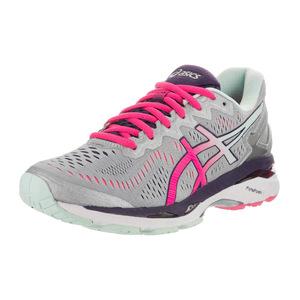 亚瑟士 跑步鞋 #Silver/Pink Glow/Parachute Purple