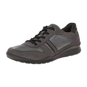 爱步 Ecco Footwear Womens Mobile III Premium 运动鞋平底鞋 #暗 Shadow #Dark Shadow