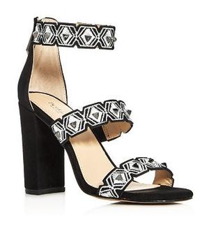 柏柯尔 晚宴鞋 #Black/Silver