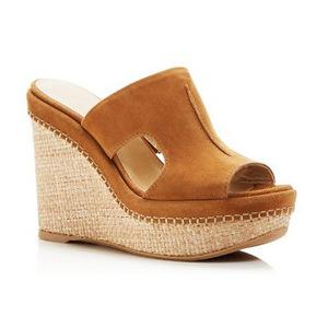 斯图尔特·韦茨曼 女士凉鞋 #Camel