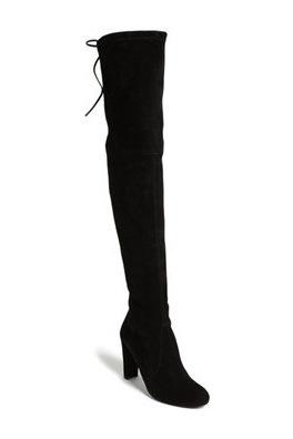 斯图尔特·韦茨曼(Stuart Weitzman) 女士长筒靴 #Slate Suede