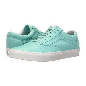 万斯(Vans) Old Skool #Pastel Pack Ice GreenBlanc de Blanc #(Pastel Pack) Ice Green/Blanc de Blanc