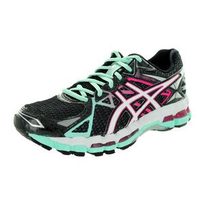 亚瑟士 跑步鞋 #Onyx/White/Hot Pink