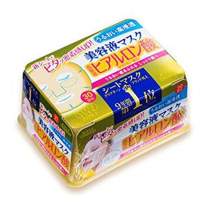 【高浓度玻尿酸 迅速缓解肌肤干燥紧绷状态】Kose 高丝美容液抽取式美白面膜贴30片
