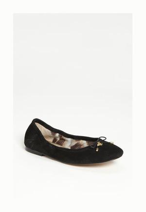 山姆爱德曼(Sam Edelman) 女士芭蕾平底鞋 #Black Suede