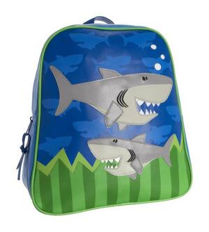 史蒂芬·约瑟夫(Stephen Joseph) 海底鲨鱼男童双肩包 #Shark