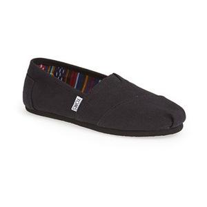 汤姆斯(TOMS) 女士一脚蹬运动鞋 #Black