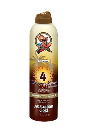 澳洲黄金(Australian Gold) 防晒乳液 全身 SPF 4 (230ml)