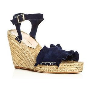 莱夫勒·兰达尔 坡跟鞋 #Eclipse Blue