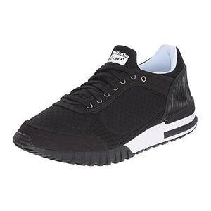 鬼冢虎(Onitsuka Tiger) 女士网面运动鞋 #Black/Black