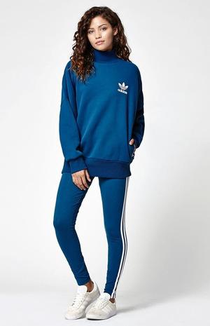 阿迪达斯(Adidas) 休闲裤 #DARK BLUE