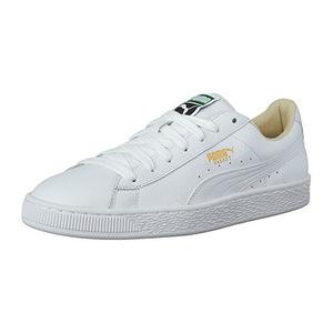 彪马(PUMA) Mens Basket 经典 Lfs Fashion 运动鞋 #Whitewhite #White-white