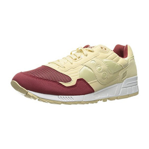 索康尼(Saucony) Originals Mens Shadow 5000 经典 Retro 运动鞋 #CreamRed #Cream/Red