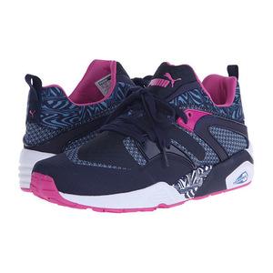 彪马(PUMA) 男士运动鞋 #Peacoat/Blue Heaven/Pink Glo