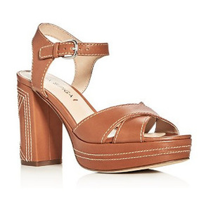Via Spiga 女士高跟凉鞋 #Tan