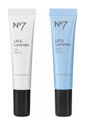 Boots No7 Boots No.7 Lift and Luminate Day and Night Serum 套装