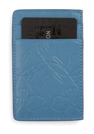 亚历山大·麦昆(Alexander McQueen) 男士卡包 #Blue