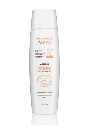 雅漾(Avène) AveneAvene Mineral Light Hydrating Sunscreen Lotion Face and Body SPF 50