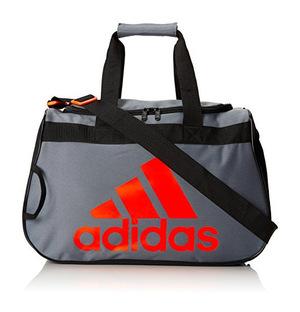 阿迪达斯 Diablo 小号 Duffel Bag #ONIXBLACKSOLAR 红色 #Onix/Black/Solar Red