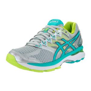 亚瑟士 跑步鞋 #Silver/Turquoise/Lime Punch