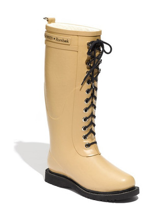 ILSE JACOBSEN Hornbæk Rubber Boot 女士 Wide 牛犊皮 #驼色 #Camel
