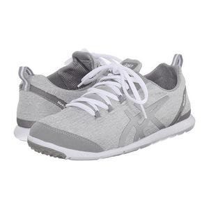 亚瑟士(Asics) 女士休闲鞋 #Light Grey/Silver/White