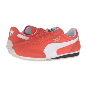 彪马(PUMA) 男士运动鞋 #Mandarine Red/Puma White