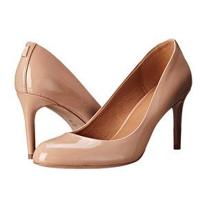 蔻驰(Coach) 女士高跟鞋 #Shell Patent