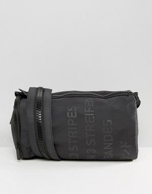 阿迪达斯 男士旅行袋 #Black