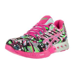 亚瑟士 跑步鞋 #White/Pink Glow/Soothing Sea