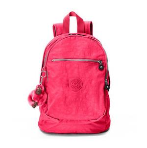 凯浦林(Kipling) 双肩包 #Vibrant Pink