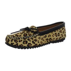 迷你唐卡(Minnetonka) 女士休闲鞋 #Leopard