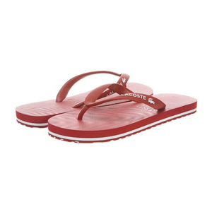 鳄鱼(Lacoste) 男士休闲鞋 #Dark Red/White