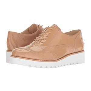 玖熙(NINE WEST) 女士牛津皮鞋 #Light Natural Patent
