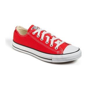 匡威 女士帆布鞋 #Red