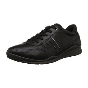 爱步(ECCO) Ecco Footwear Womens Mobile III Premium 运动鞋平底鞋 #黑色 #Black