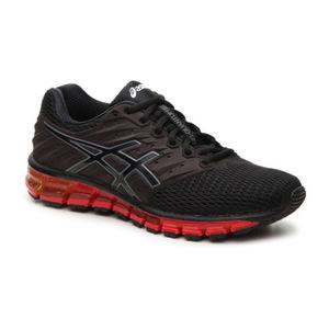 亚瑟士(Asics) 男士低帮休闲鞋 #Black/Red