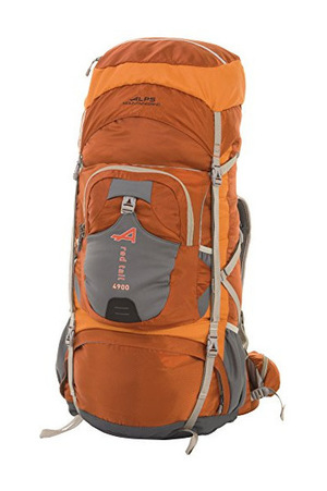 ALPS Mountaineering Red Tail 4900 Internal Frame Pack #赫色 #Rust