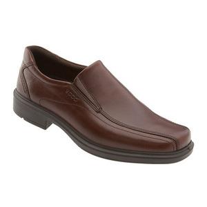 爱步 男士正装休闲鞋 #Rust