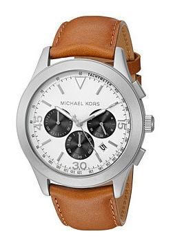 迈克高仕(Michael Kors) 男表 #MK8470 - Silver/Light Brown