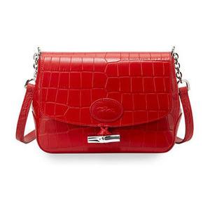 珑骧 女士斜挎包 #RED