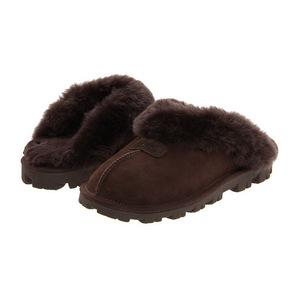 UGG 女士拖鞋 #Chocolate