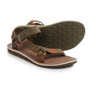 Teva Original Universal 磨毛帆布凉鞋 For 男士 #暗橄榄绿 #Dark Olive