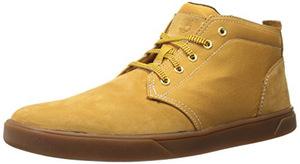 添柏岚(Timberland) Men's Groveton 真皮面料 Sneaker 靴 #Wheat Nubuck