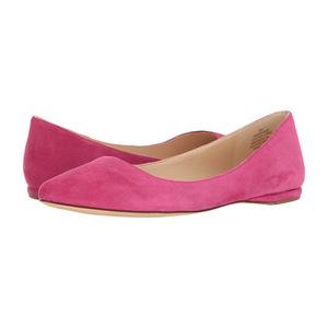 玖熙(NINE WEST) 女士平底鞋 #Pink Suede 2