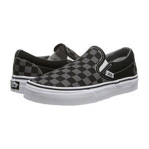 万斯 女士休闲鞋 #(Checkerboard) Black/Pewter