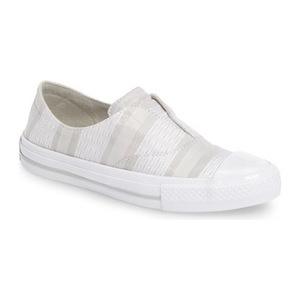 匡威 女士一脚蹬休闲鞋 #Light Surplus/ White/ Mouse